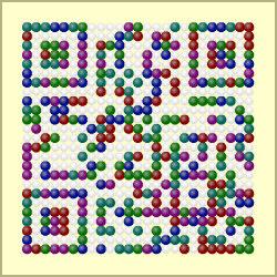 Design-Beispiel »Kugeln« QR-Code