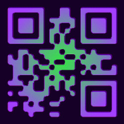 Design-Beispiel »Floating 2« QR-Code