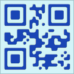 Design-Beispiel »Floating 1« QR-Code