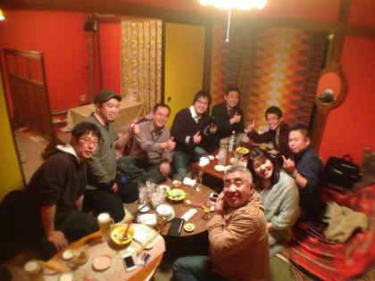 昭和ハッピー酒場東京ウララでの懇親会