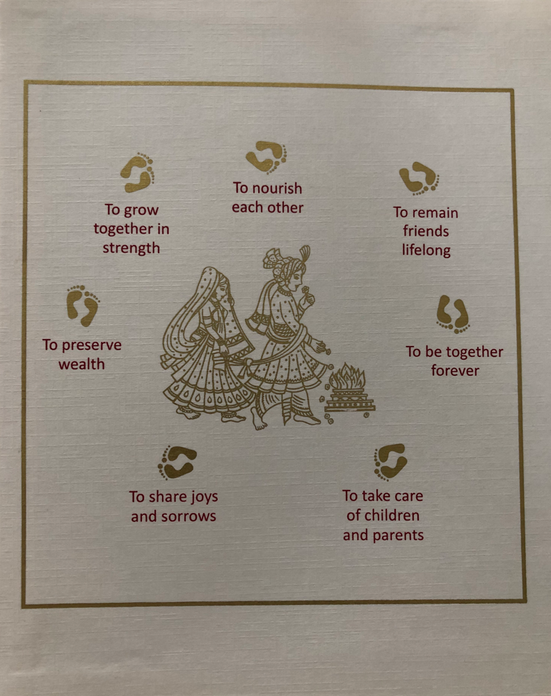 Trouwen in hindu ritus: 7 beloftes - 2 lichamen - 1 ziel