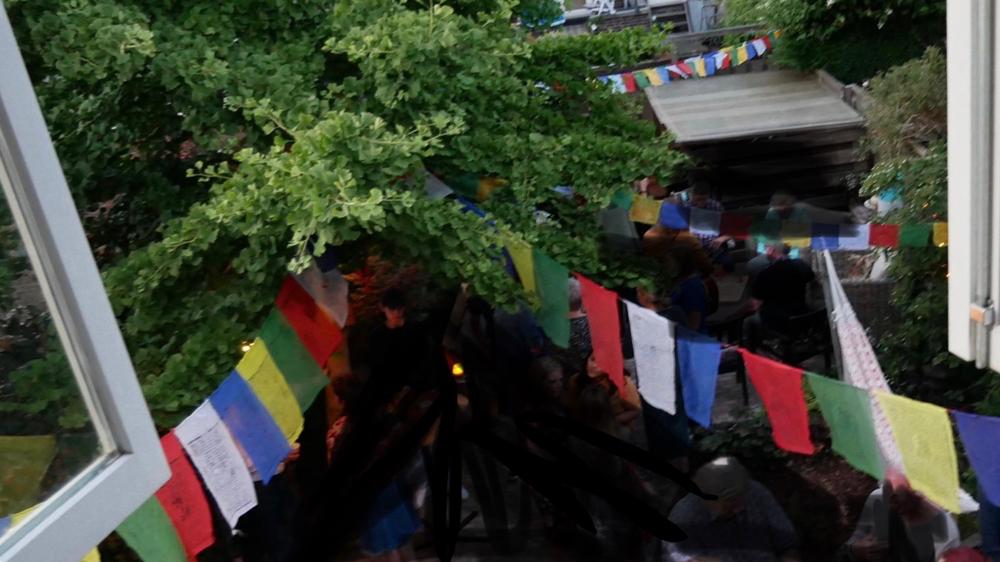 Tibetaanse gebedsvlaggetjes ook in Nederland
