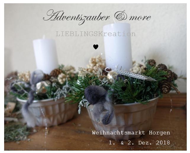 Adventsgesteck, Kerze, Weihnachten, Lieblingskreationen, Gugelhopfform, Weiss, Silber