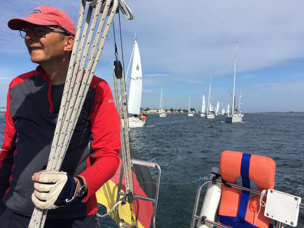 Nervosität beim Skipper vor dem Start