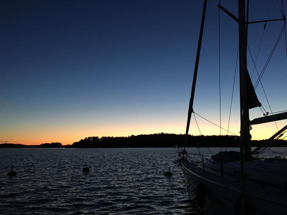 Insel Korpo, Verkan. Dienstag, 19.7.2016