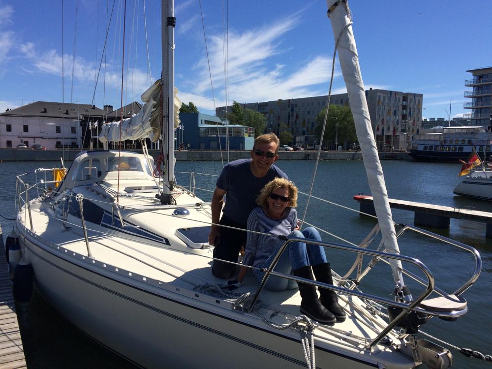 Andrea und Jens in Tallinn