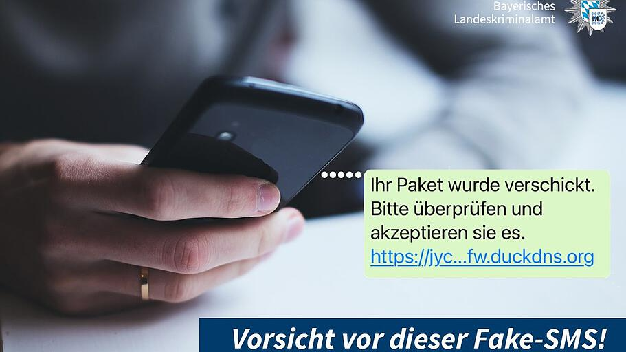 Βαυαρική αστυνομία: Προσοχή σε SMS