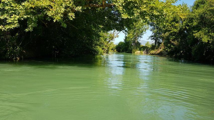 Ο Αχέροντας  ποταμός στο χωριό Αμμουδιά της Πρέβεζας.