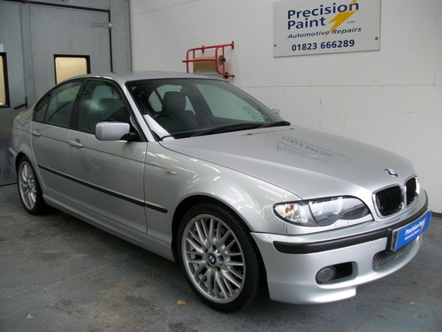 BMW Good as new after accident damage, Precision Paint, Wellington, Somerset