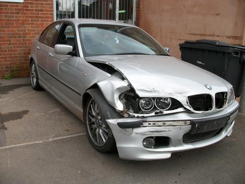 BMW accident damage, Precision Paint, Wellington, Somerset