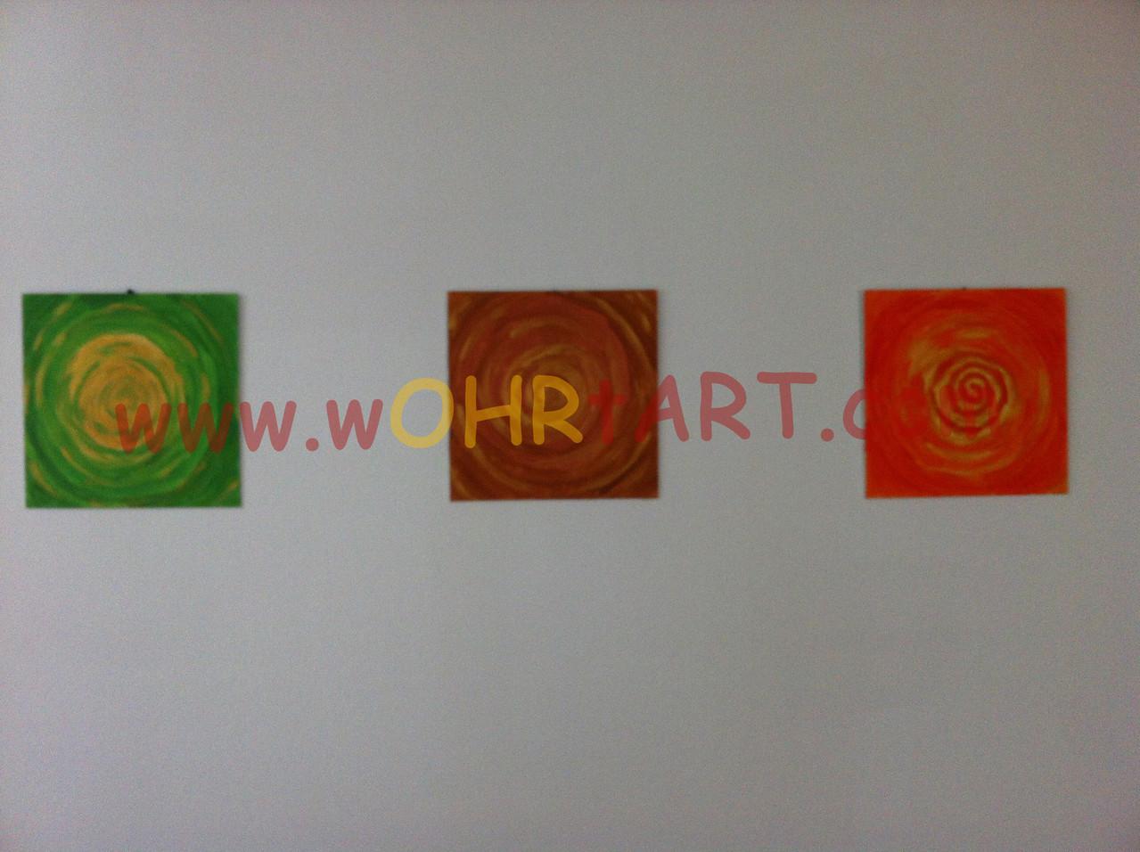 Farben-Triptychon