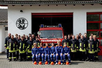 Die freiwillige Feuerwehr Luckenbach