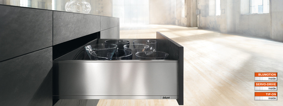 Blum Legrabox geradliniges Design