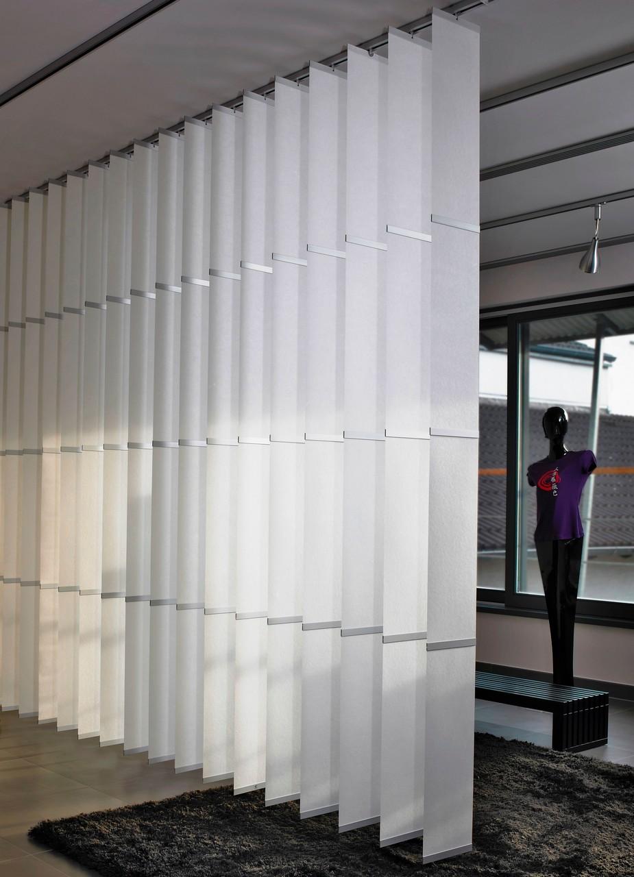 Wood & Washi Banner Shades als Raumteiler