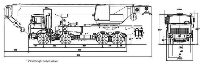 КС-64713 на шасси МЗКТ-700600-011