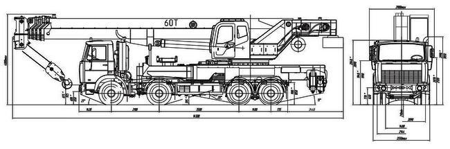 КС-65721-2 на шасси МЗКТ-700600-021