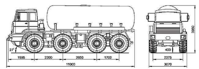 БЦМ-5642-01 на шасси МЗКТ-751651