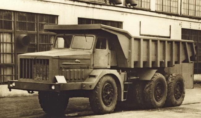 опытный образец МАЗ-530