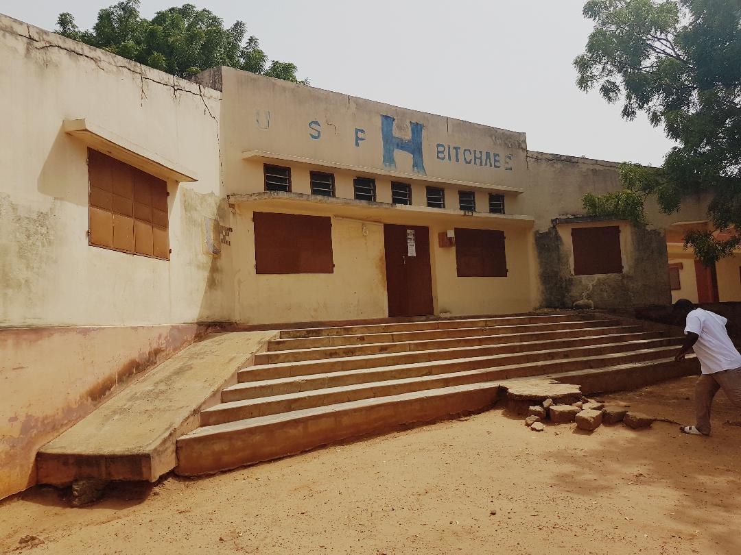 Sanierung des Gesundheitszentrums von Bitchabé (TOGO)