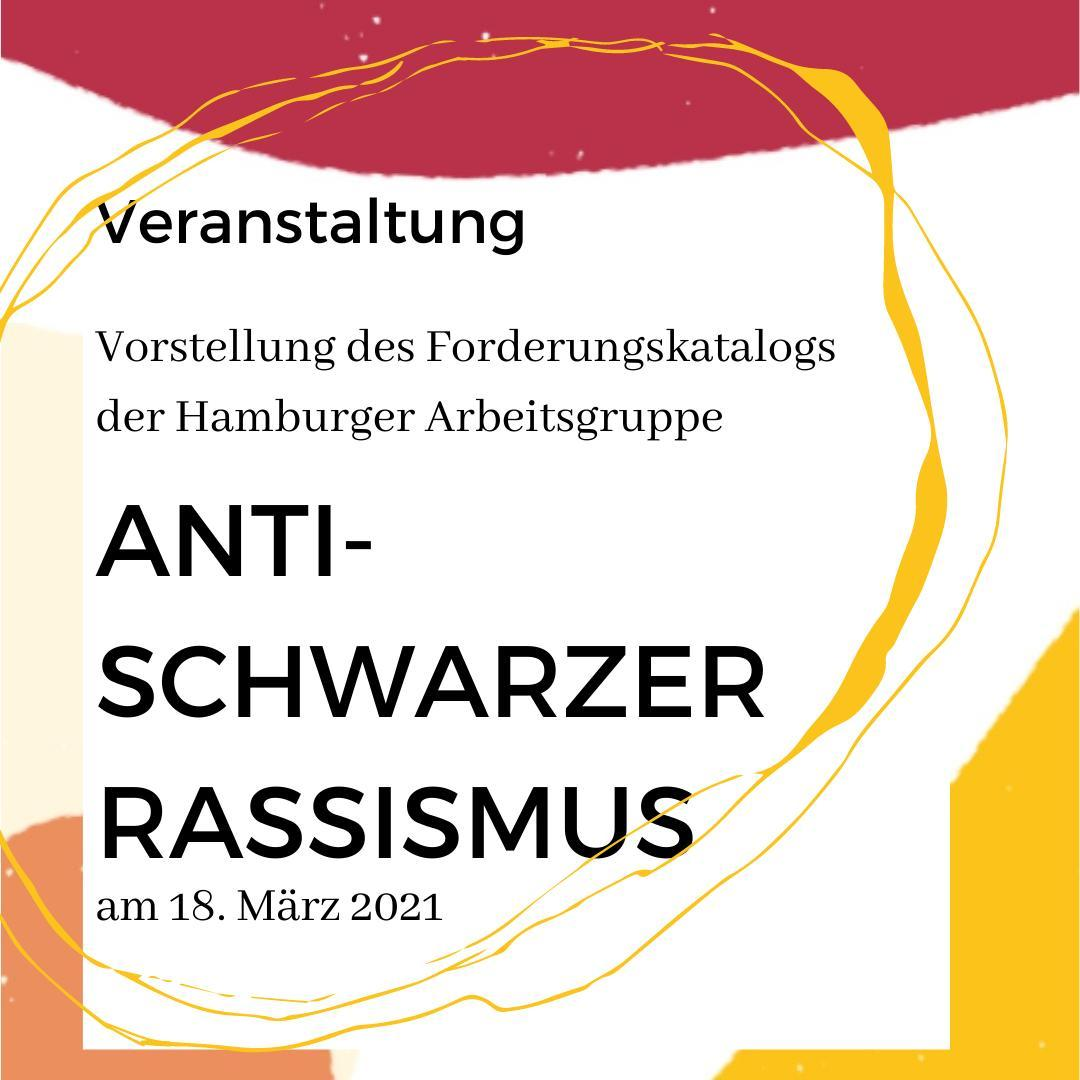 Forderungskatalog der Arbeitsgruppe Anti-Schwarzer Rassismus