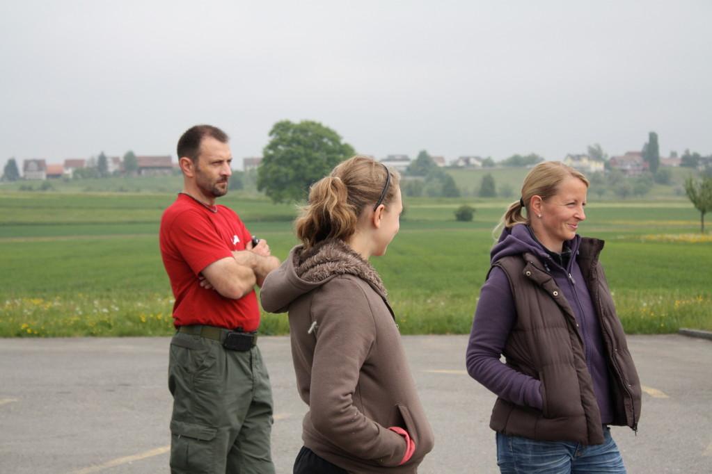 Jörg, Daniela und Steffi