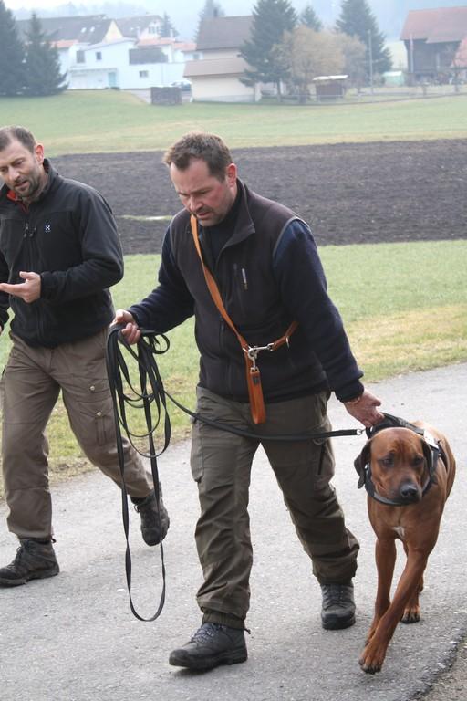 Jörg und Alessandro mit Ayo