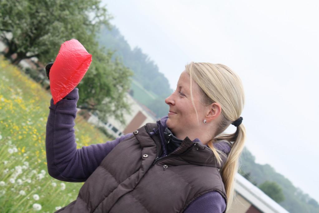 Steffi mit Geruchsträger