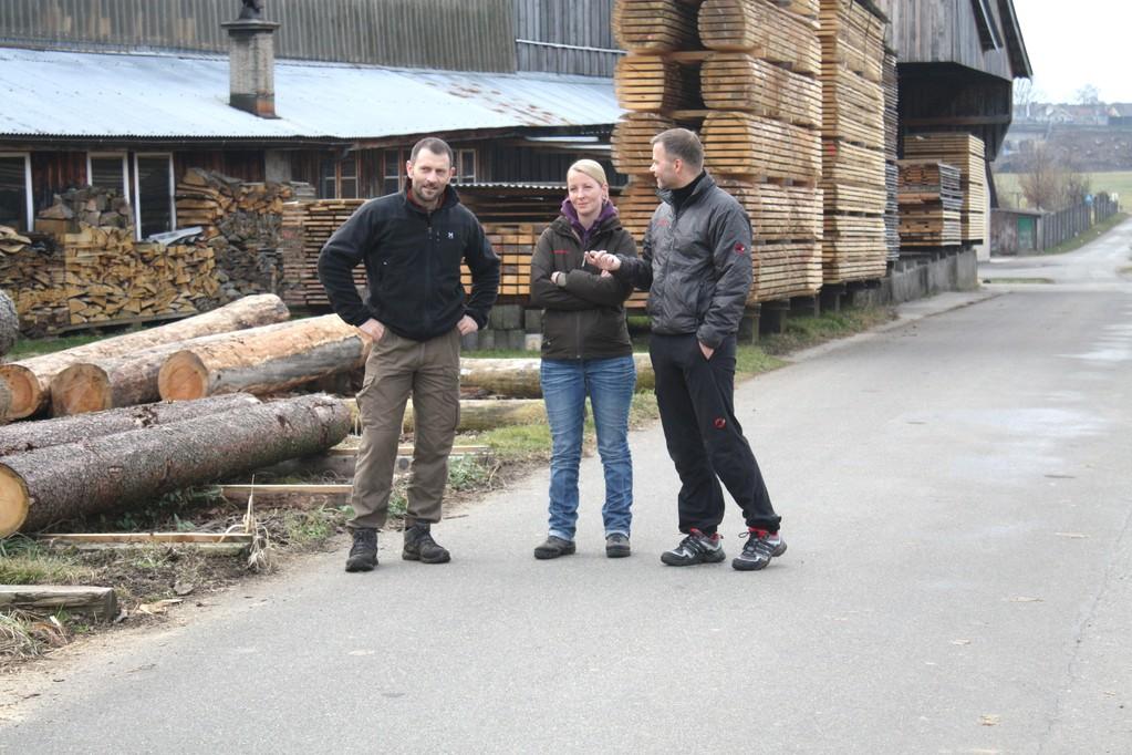 Jörg, Steffi und Fredi
