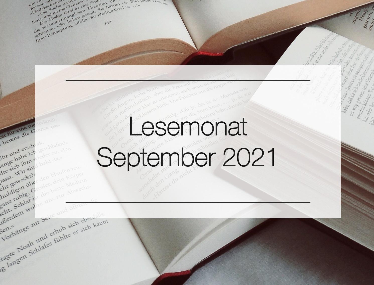 Mein Monat in Büchern - September 2021