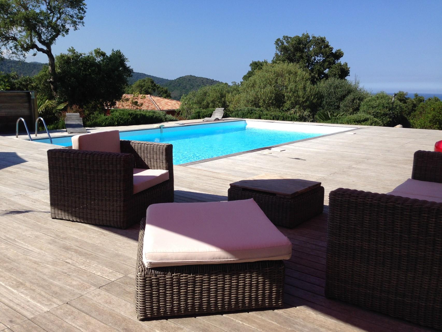 Location villa corse du sud avec piscine chauff e spa - Location villa avec piscine corse ...