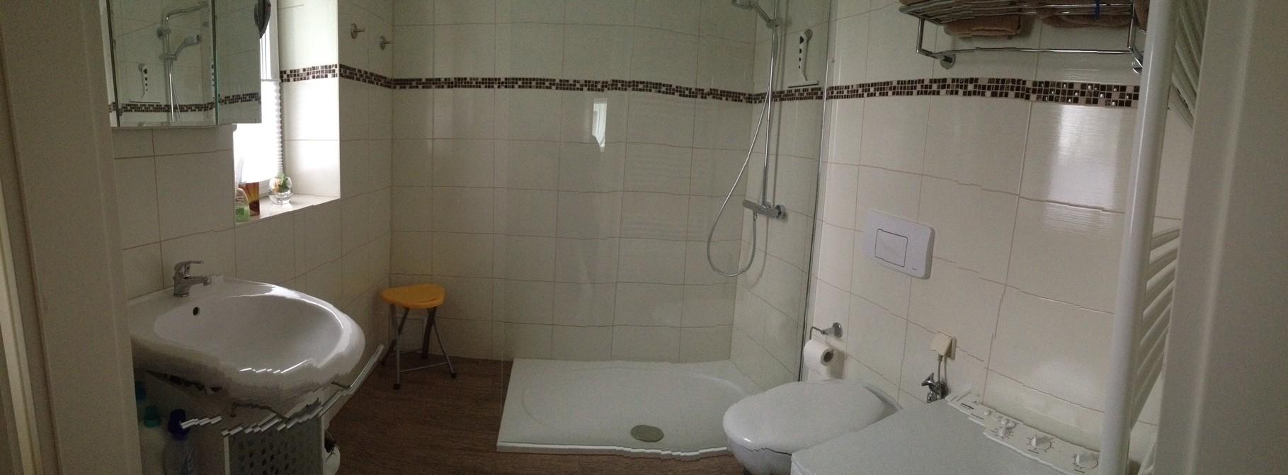 Badeziimer mit Dusche