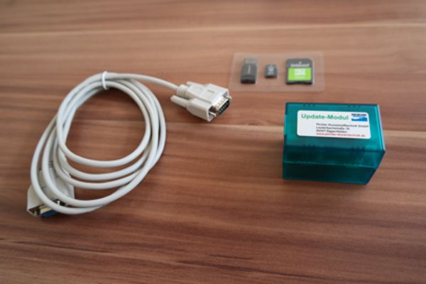 Update Modul-Set WPD-A3 und WPS-A3