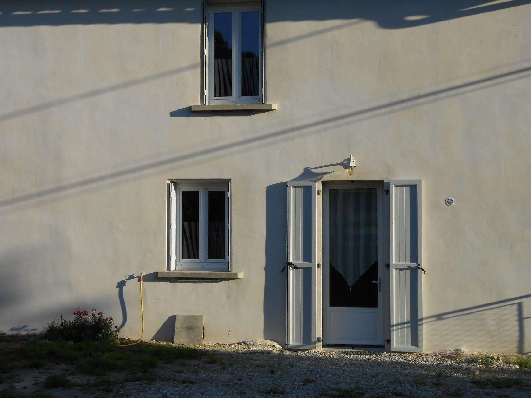 terrasse en cours d'aménagement...