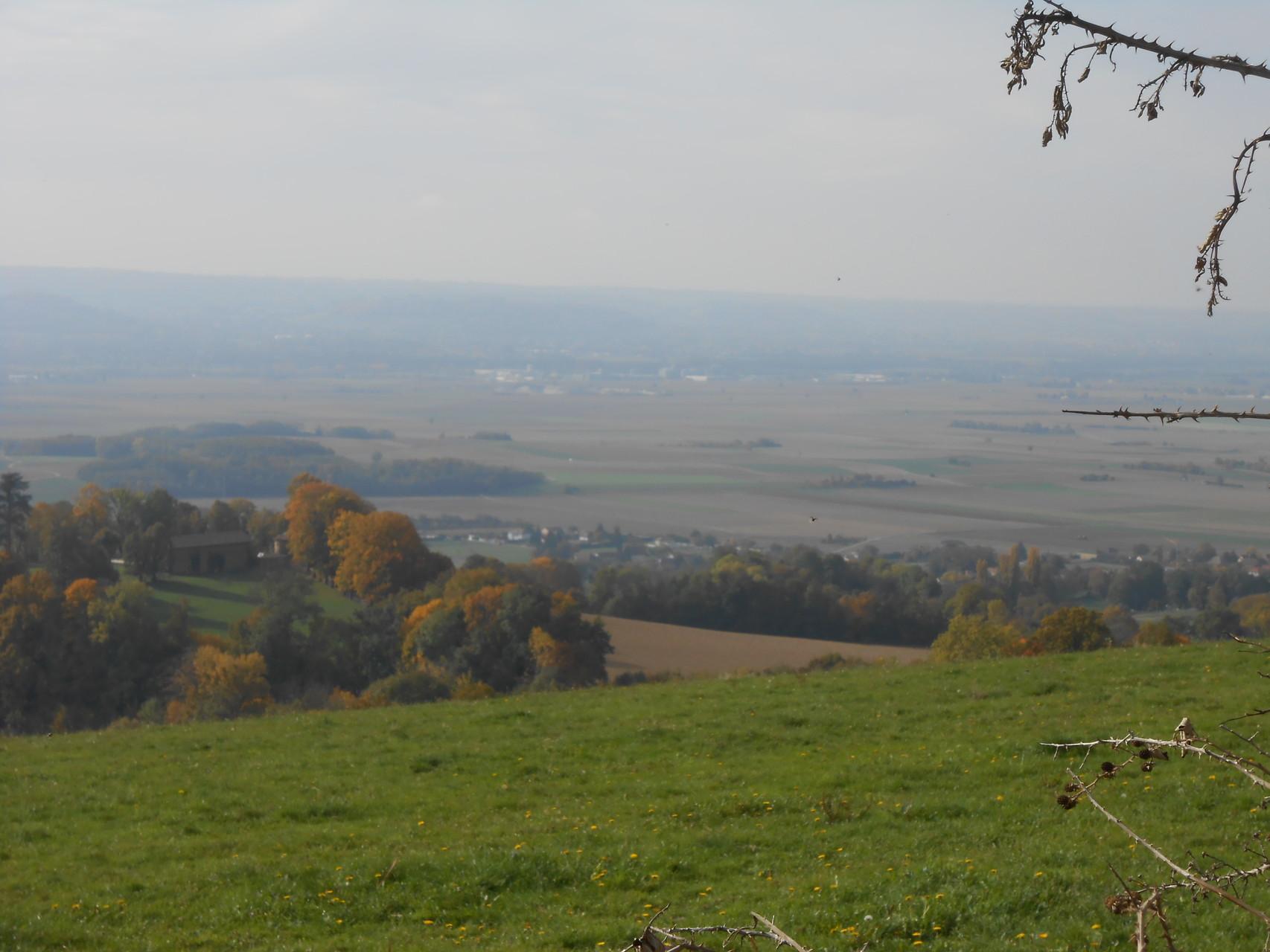 point de vue sur la plaine de la Bièvre