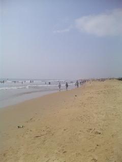 雄大無限のオリッサの海岸