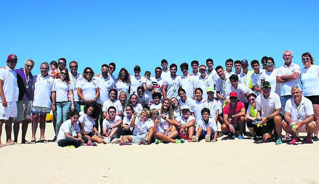 Foto de algunos de los participante en la prueba. Fuente: La Provincia/Diario de Las Palmas