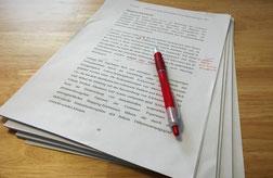 Korrektorat und Lektorat - Marlene Trendl