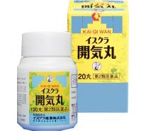 開気丸|第2類医薬品(イスクラ産業株式会社)ストレス症状を改善する漢方薬