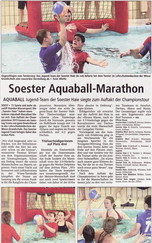 Soester Anzeiger 08.12.2014