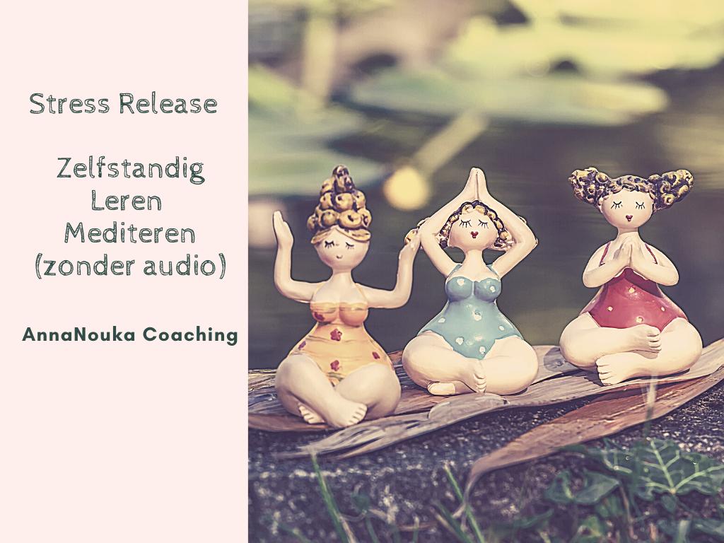 """Workshop nr.2 Stress Release """"Zelfstandig Leren Mediteren"""""""