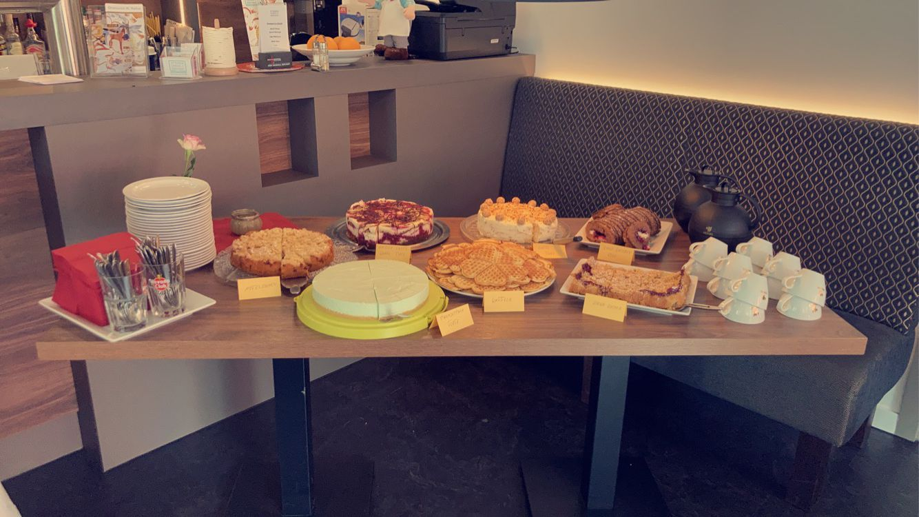 Hausgemachter Kuchen und Torten