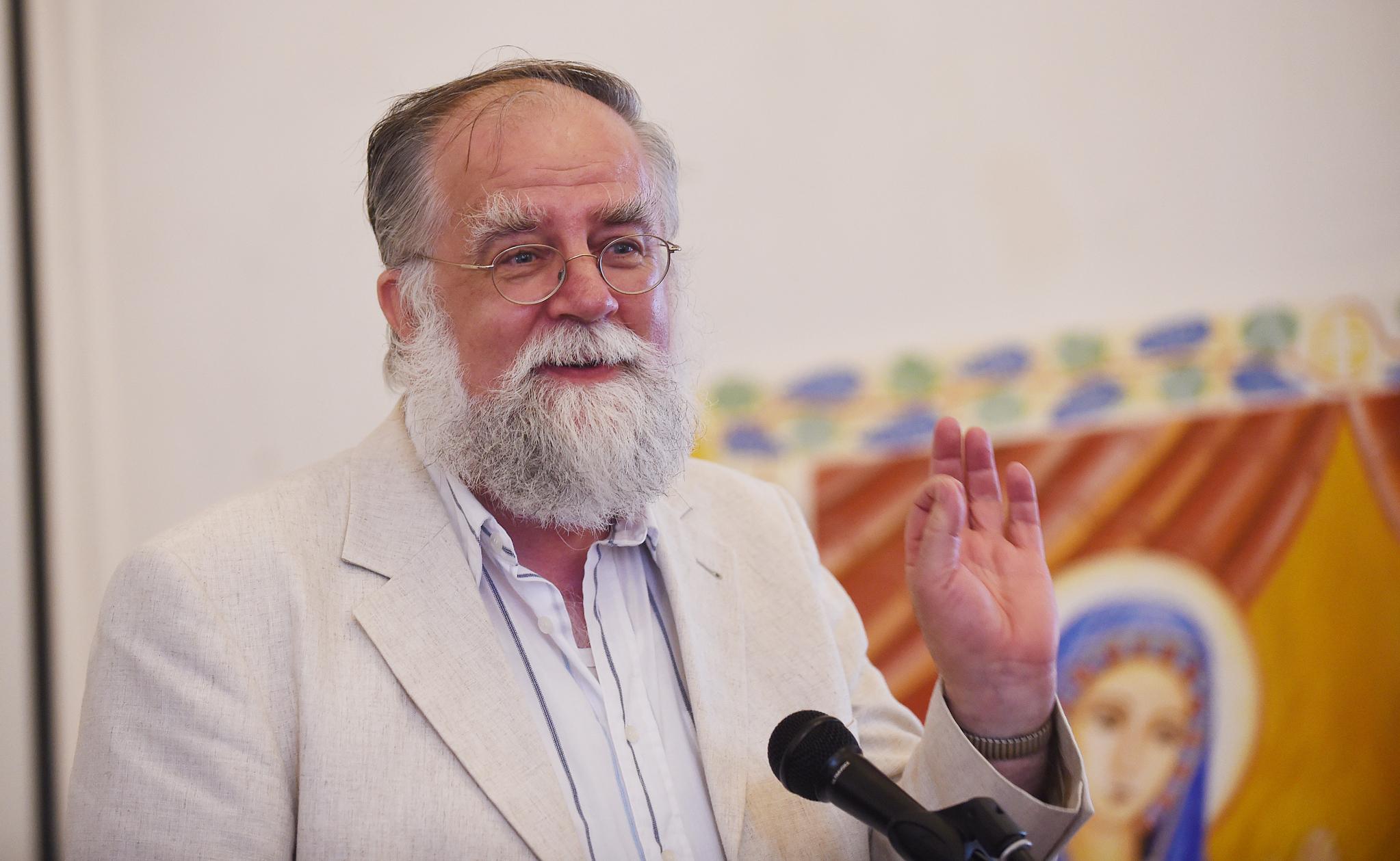 Vortrag von Prof. Dr. Dr. h.c. mult. Martin Tamcke. Foto: Maria Hopp