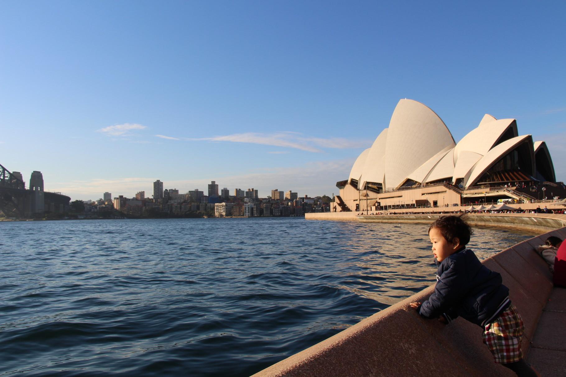 シドニー オペラハウス周辺は絶好のフォトスポット