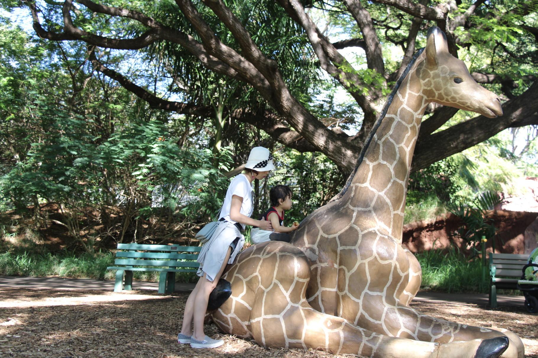 ホノルル動物園が楽しい!