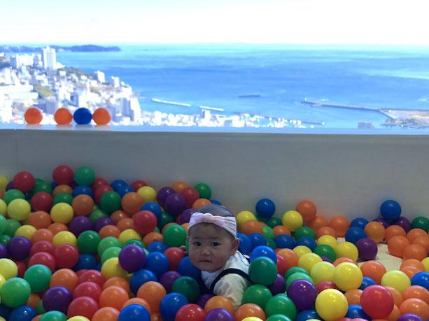 星野リゾート リゾナーレ熱海 ボールプール