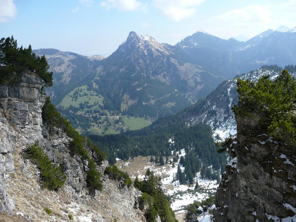 Prachtblick zum Aggenstein