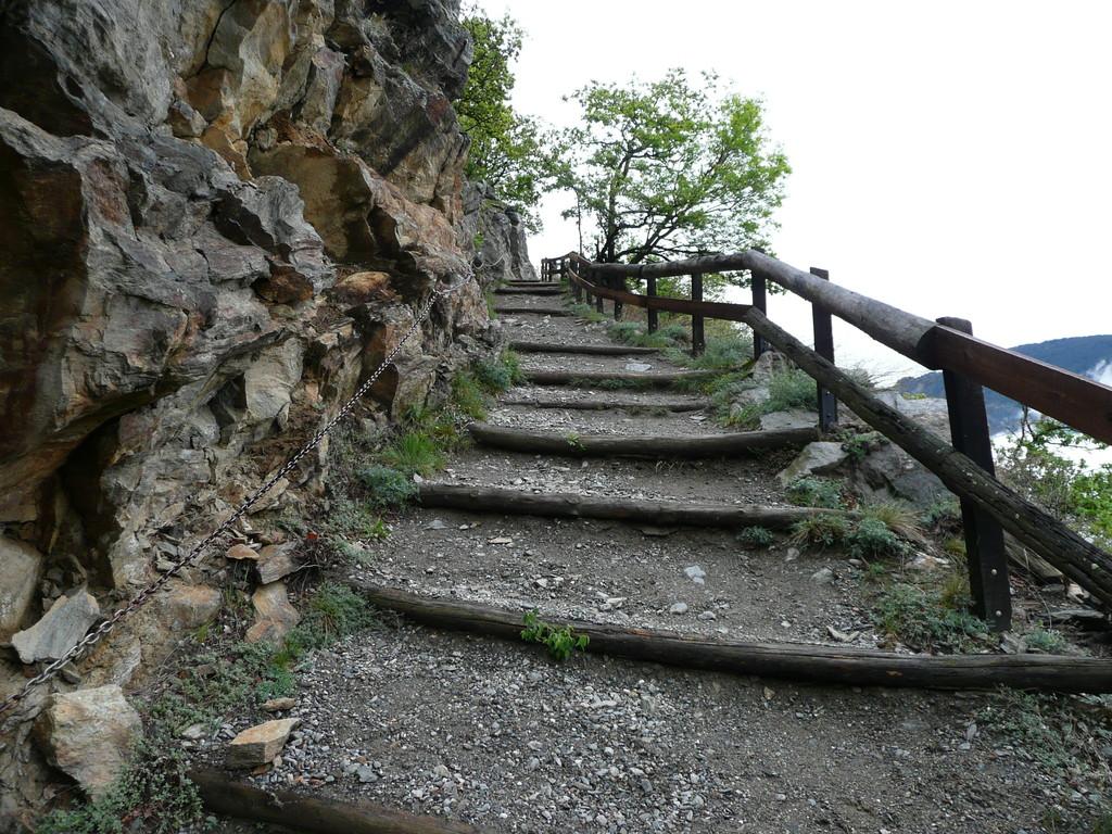 Gut angelegter Abschnitt am Panoramaweg