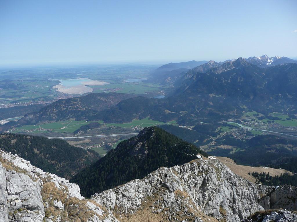 Aussicht vom Gipfel der Großen Gehrenspitze
