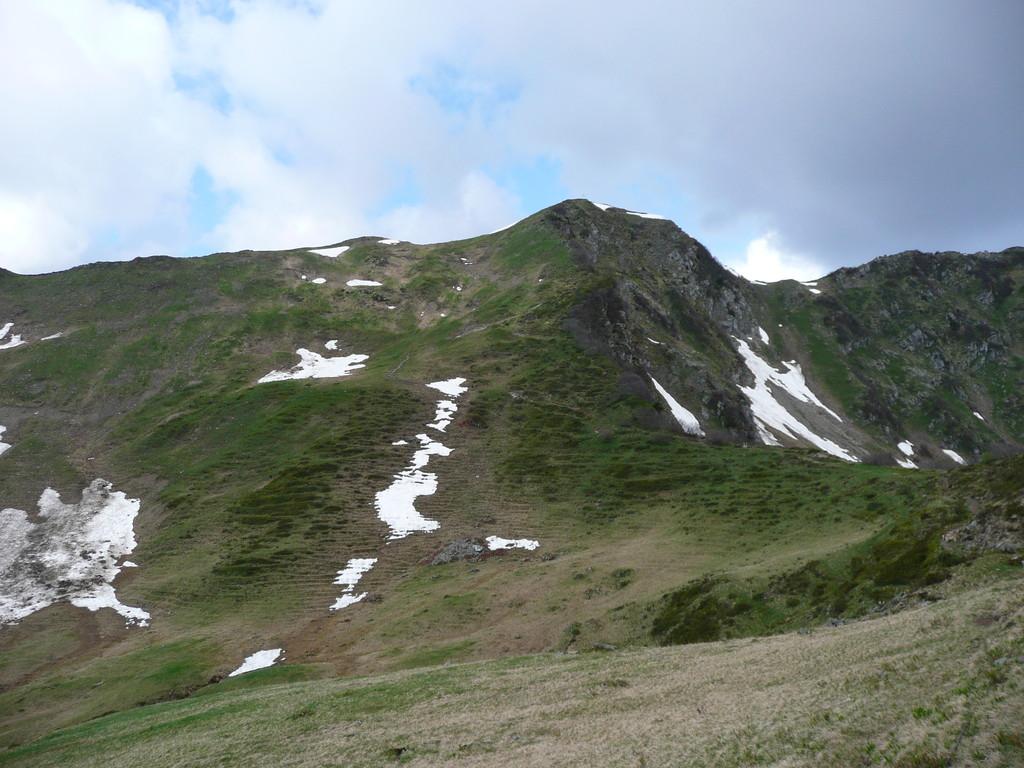 Der weitere Aufstieg zum Grünhorn