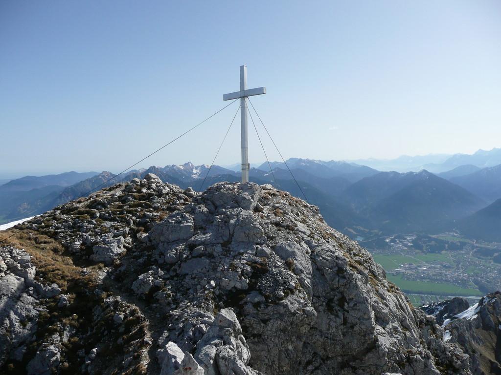 Am Gipfel der Großen Gehrenspitze